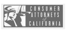 consumer attorneys of california logo